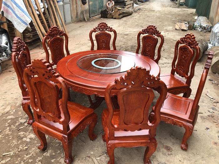 ghe an go huong - Kinh nghiệm chọn mua bàn ghế ăn gỗ hương chất lượng