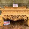 sap tho mai dieu go gu chan 22 cham mai dieu 100x100 - Bộ sập thờ Mai Điểu nhị cấp chân 24 và bàn cơm gỗ gụ (đục tay 100%)