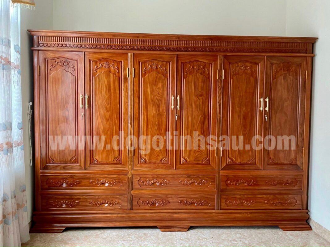 tu ao go huong da nam phi 1068x800 - Tại sao ngày càng nhiều khách hàng quan tâm lựa chọn tủ áo gỗ hương?
